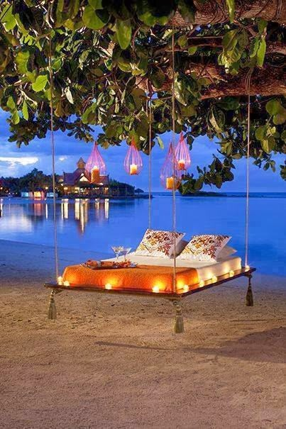 Asma yatak, ağaç