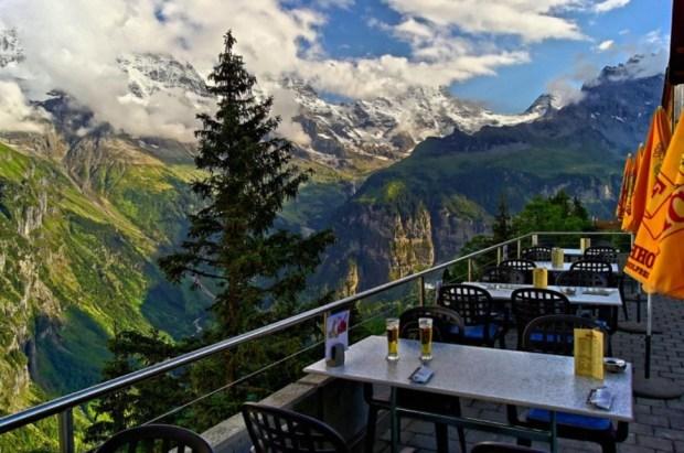 Hotel Edelweiss, Mürren, Switzerland