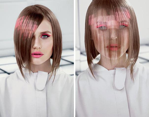 Saç boyama modeli