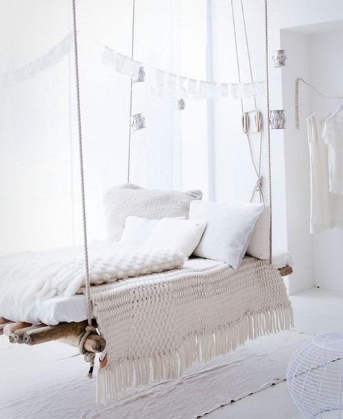 salıncak şeklinde yatak