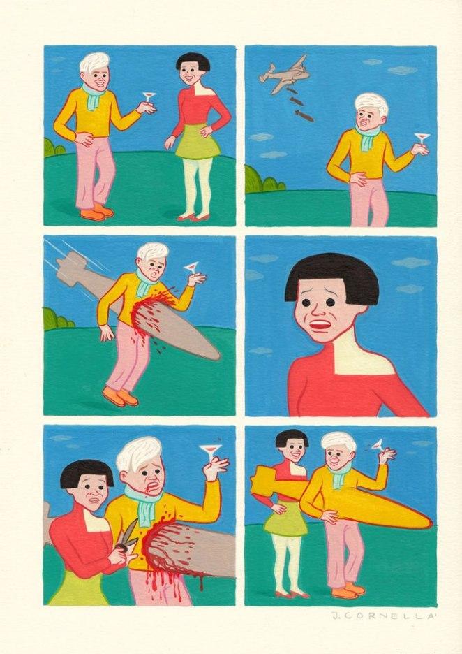 Joan Cornella karikatürleri