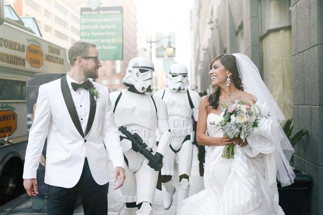 Star wars düğün