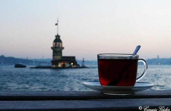 kız kulesi ve çay