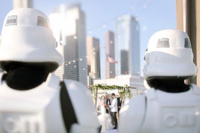 star-wars temalı düğün