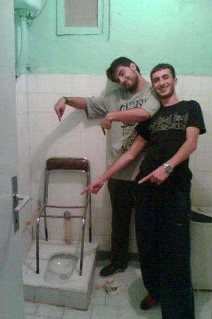 öğrenci evi tuvalet
