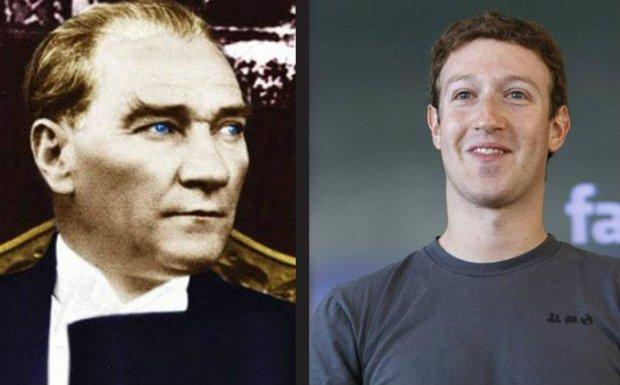 Facebook Atatürk