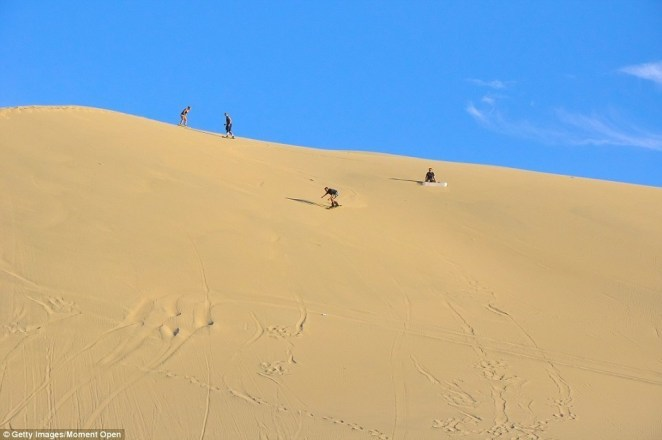 Huacachina Çöl Kent - 7