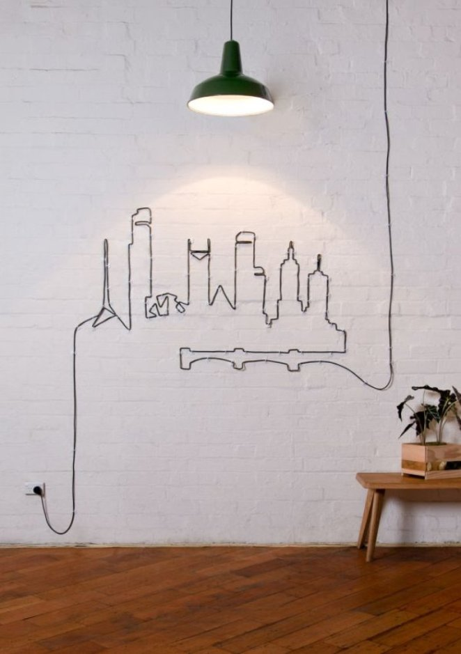 evdeki kablolar