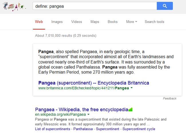 kelime arama google
