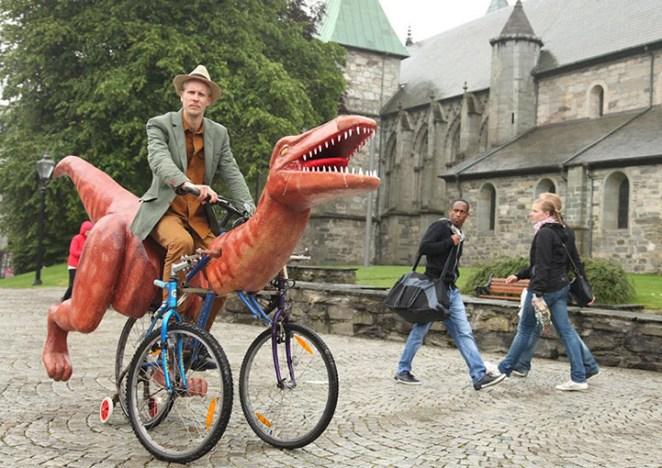 Dinazordan bisiklet yapmak 4