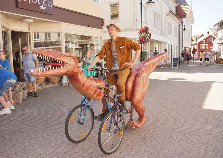 Dinazordan bisiklet yapmak 6