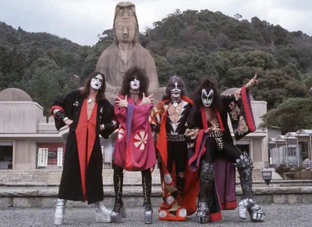 Kiss 1977 Japonya