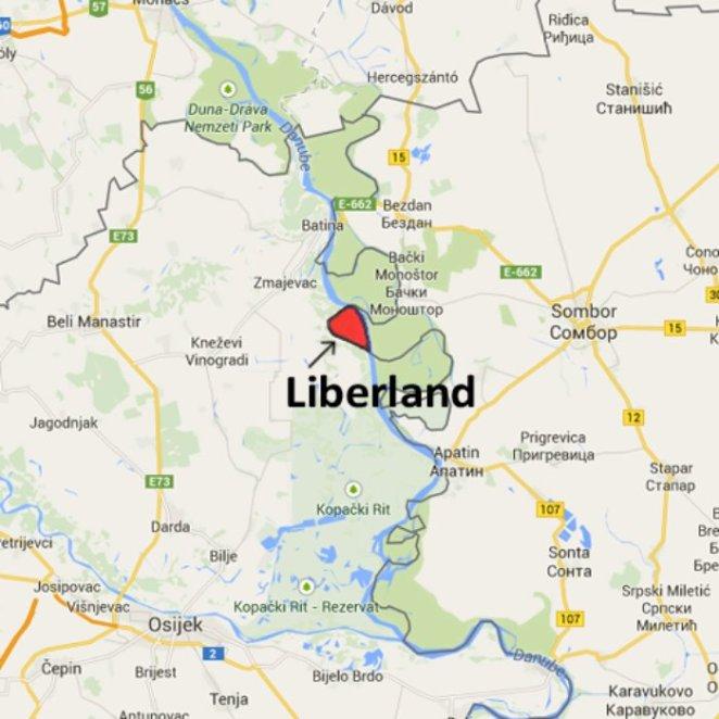 Liberland yeri