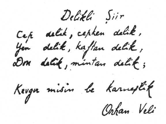 Orhan Veli Şiirleri