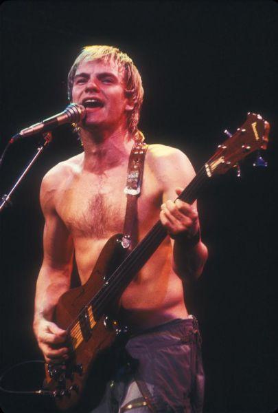 Sting Hamburg 1980