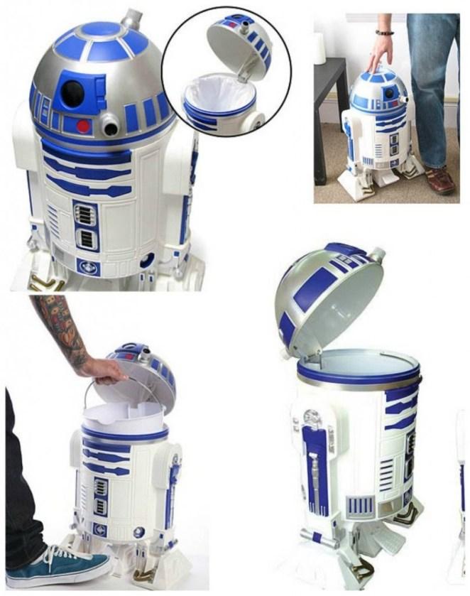 R2 D2 Çöp kutusu