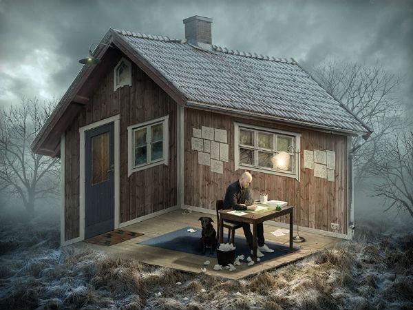 Erik Johansson  ilginç fotoğraflar