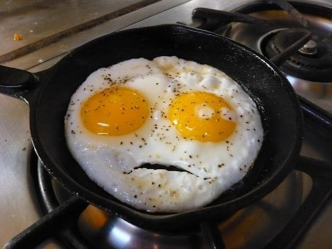 ilginç yumurta omlet