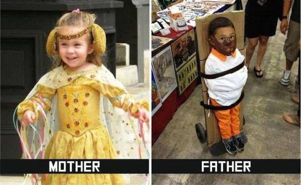Anne ve Baba Arasındaki farklar