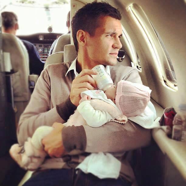 baba ve bebek