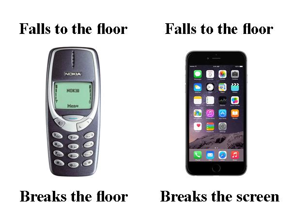 geçmişte nasıldı şimdi nasıl telefon