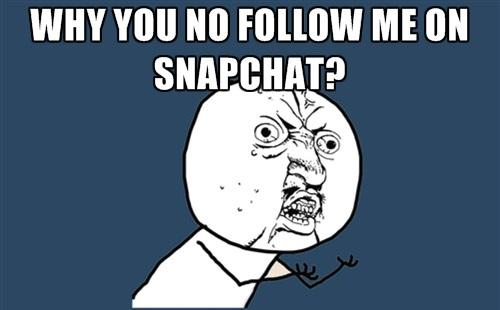 snapchat beni takip et