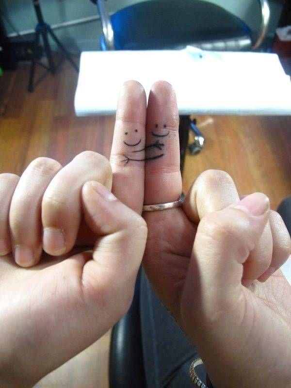 Çiftler için uyumlu dövme modelleri  17