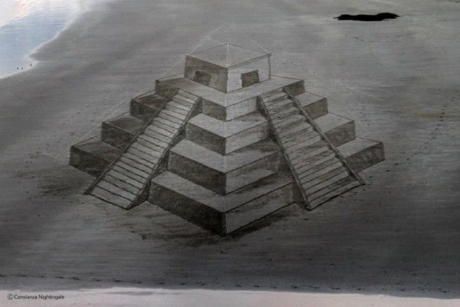 Plajda 3D kumdan kale 3