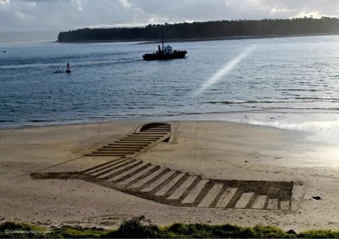 Plajda 3D kumdan kale 8