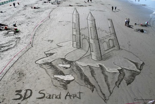 Plajda 3D kumdan kale