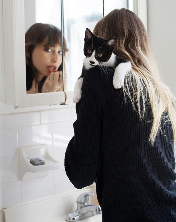 kızlar ve kedileri instagram 5