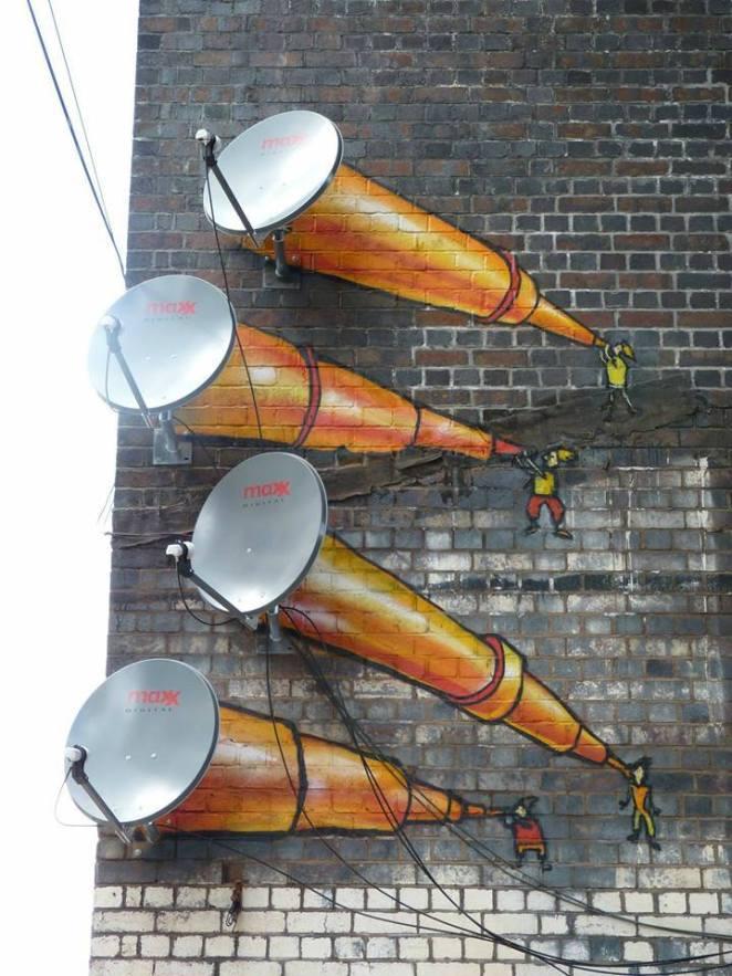 sokak sanat örnekleri