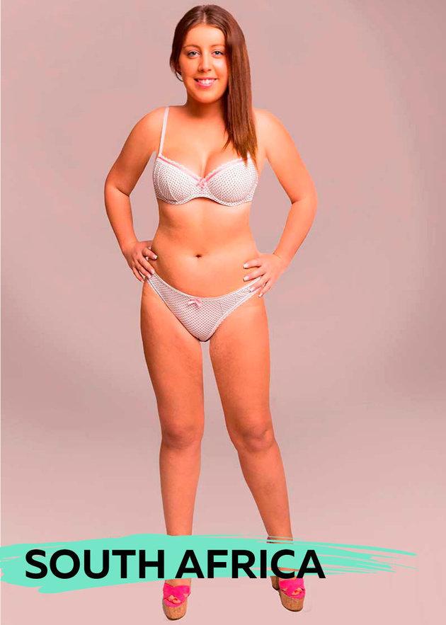 Ülkelere göre ideal vücut ölçüleri 9