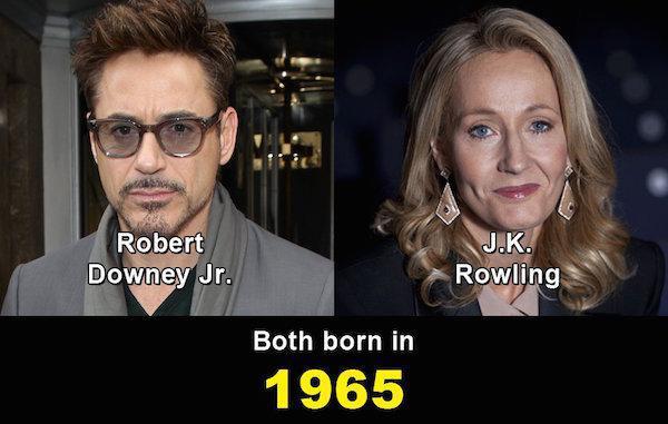 Aynı yaşta olduklarına inanamayacağınız ünlüler 8