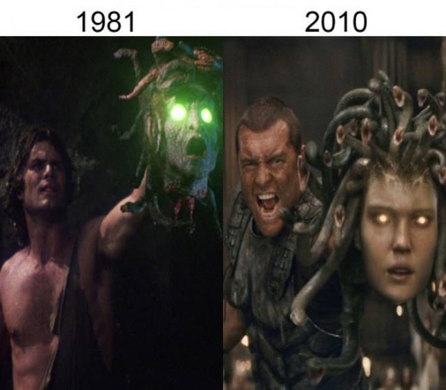 Filmlerin önceleri sonraları Titanların savaşı
