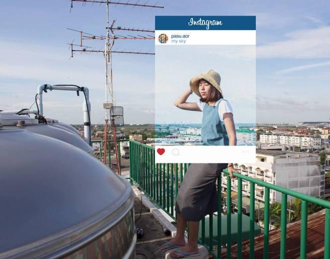 Instagram Fotoğraflarının Yüzünü de Gösteren Çalışma  6
