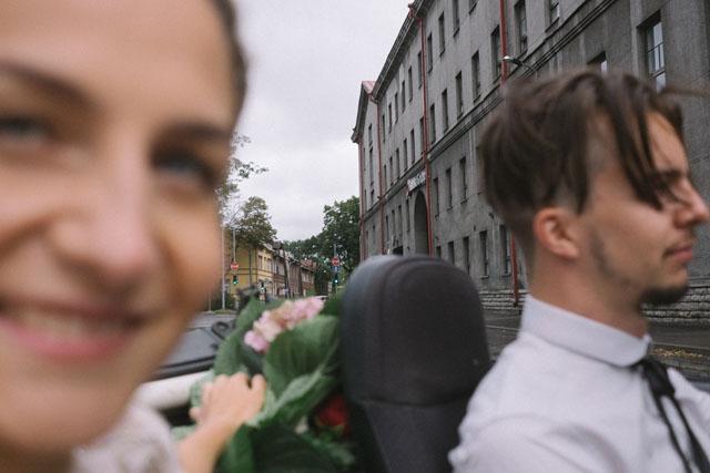 Kendi düğününü fotoğraflayan gelin Liisa 13