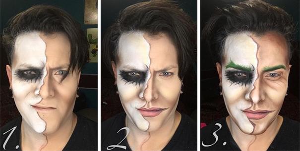 joker makyajı