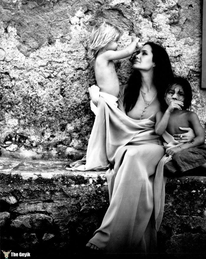 Angelina Jolie Brad Pitt Fotoğrafları 12