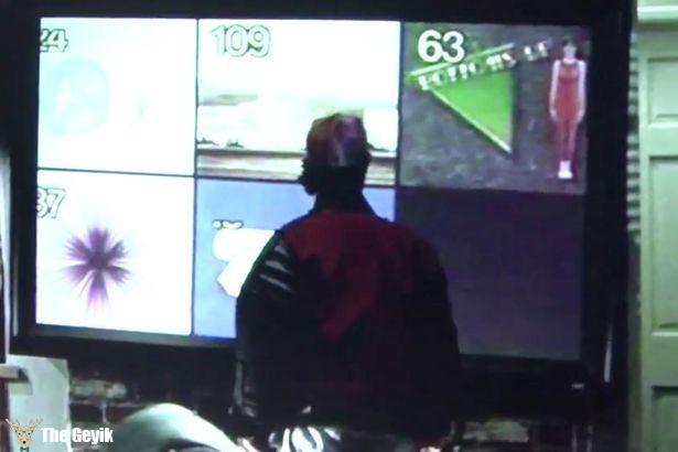 Back-to-the-Future-II düz ekran tv