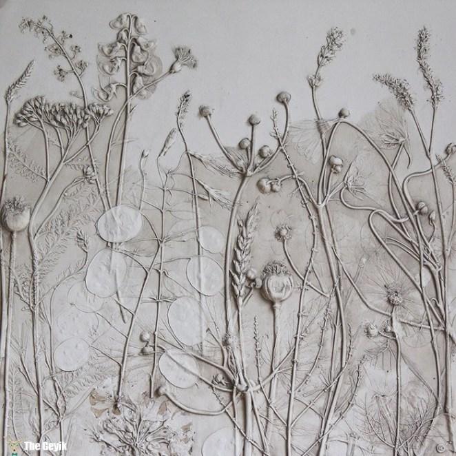 fosil çiçek