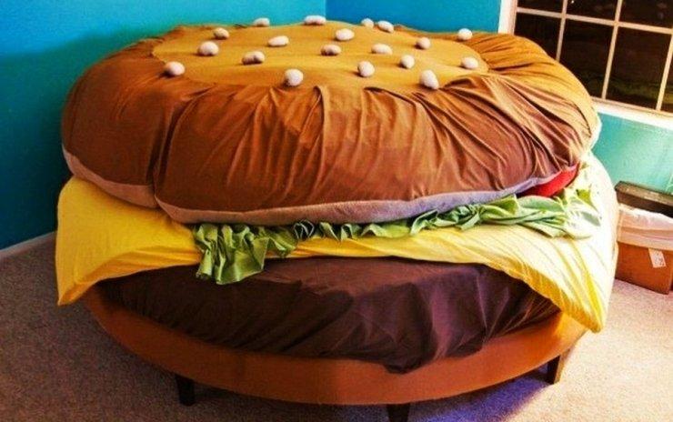 hamburger yatak