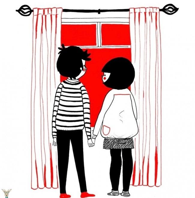 İçinizi Isıtacak 15 İllüstrasyon ile Gerçek Aşk-soppy-9