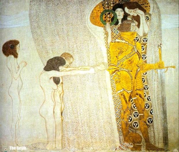 Gustav Klimt'in Erotik Eserleri Canlandı 7