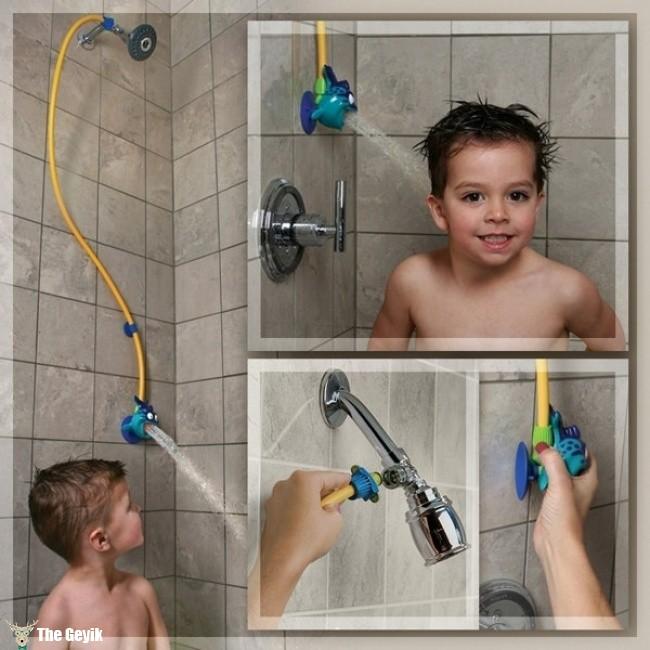eğlenceli duş