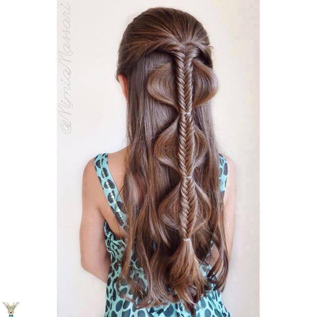 Kız saç modeli