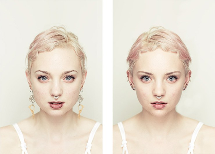 simetri yüz