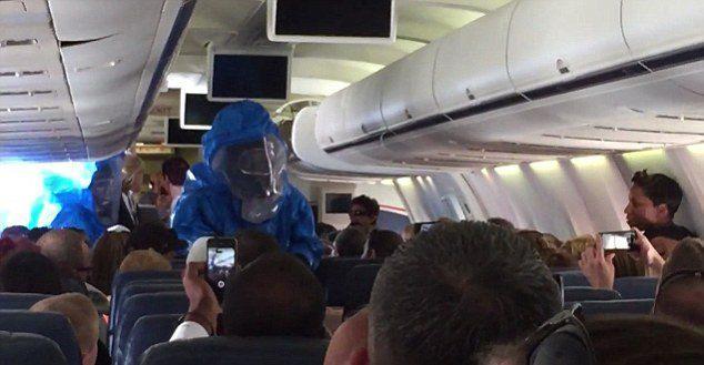 uçak panik