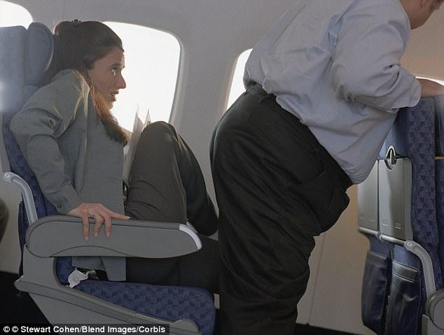 uçaktaki rahatsız edici tipler 11