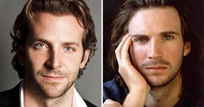 Bradley Cooper and Ralph Fiennes